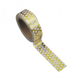 Washi tape gold tikki