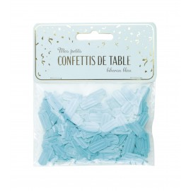 CONFETTIS DE TABLE BIBERON BLEU