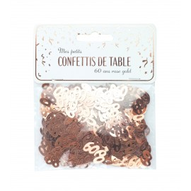 CONFETTIS DE TABLE 60 ROSE GOLD