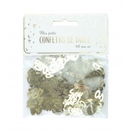CONFETTIS DE TABLE 40 OR